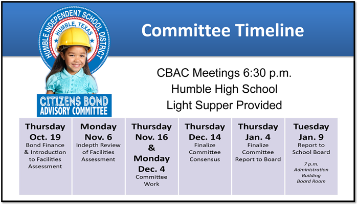Committee Timeline