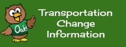 Transportation Change Information