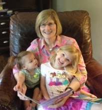 Mrs. Graham with Granddaughters