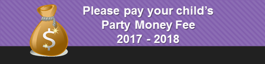 Party Money Fee - 2017