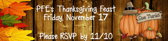 Thanksgiving Feast - 11/17