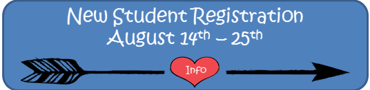 New Student Registration - Aug 8th