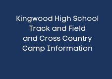 KHS Cross Country and Track and Field Camp information