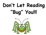 Don't let reading bug you