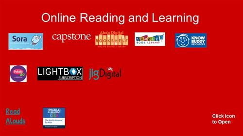 Online reading and learning