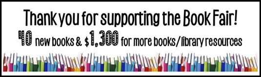 Book Fair - Thank you for your support!