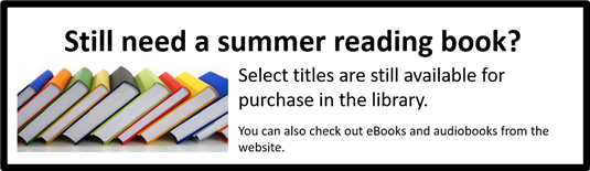 Still need a summer reading book?