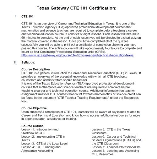 cte research paper
