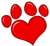 Cougar Heart Paw