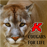 Cougars for Life Logo