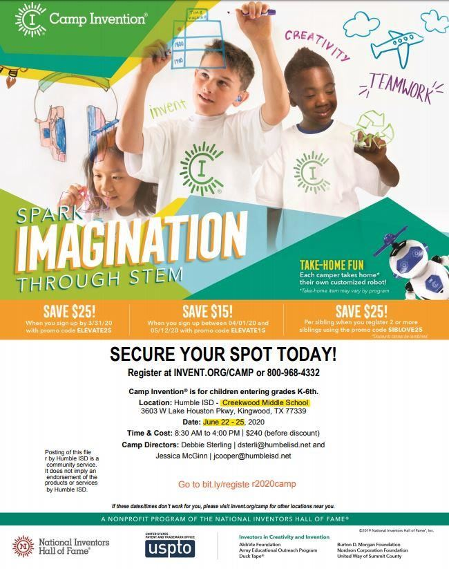 Camp Invention 2020