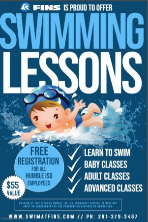 FINS Swimming Lessons August 31 2019