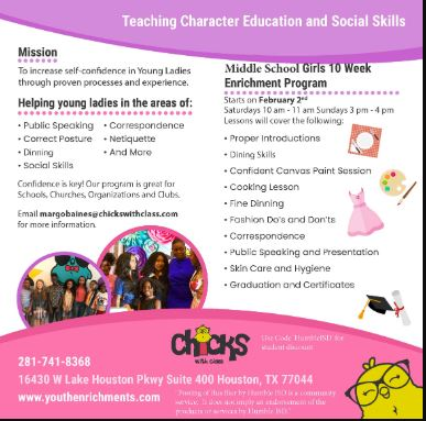 Teaching character education and social skills