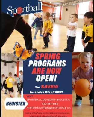 Sportball Spring Programs Available Now