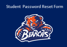 Student Password Reset Form