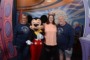 With our favorite mouse!