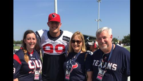 Meeting JJ Watt