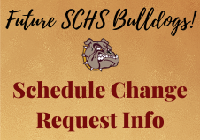 Schedule Change Requests are due April 10th