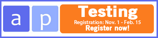 Link to registration for AP exams