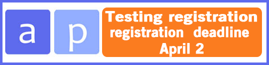 Link to register for AP exam