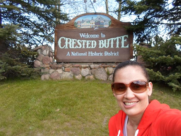 Ms. Flores in Crested Butte
