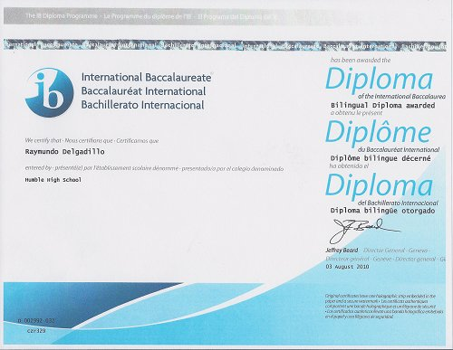 ib diploma The international baccalaureate (ib) diploma programme (dp) is an educational programme examined in one of three languages (english, french or spanish) and is a leading university entrance course it is taught in 2,075 schools, often in international schools, in 125 countries all around the.