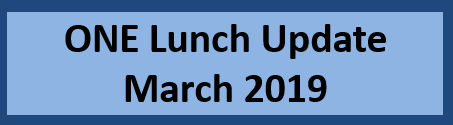 One Lunch Update March