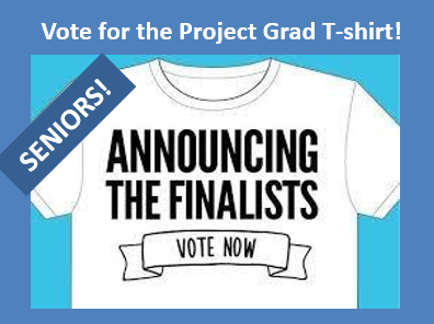 Vote for Project Grad Shirt