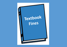 Pay textbook fines