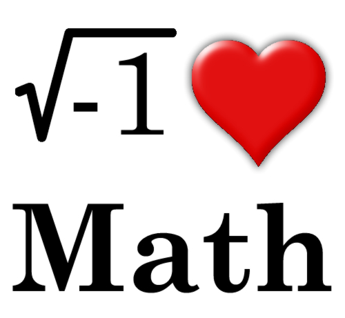 I Love Math Picture