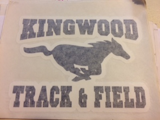 Track & Field Decal