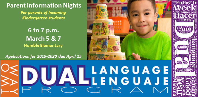 Dual Language Parent Information Nights