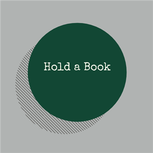 Hold a book
