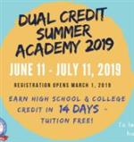 Dual Credit Summer Academy 2019