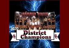 Lady Bulldogs - 2020 Basketball District Champs