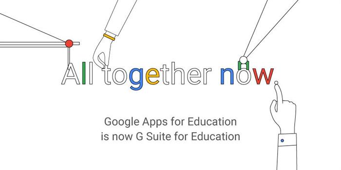 Google Apps is now called G Suite