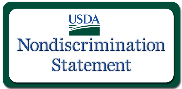 USDA NONDISCRIMINATION STATEMENT