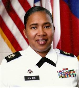 First Sergeant (1SG) Lanetia Valcin