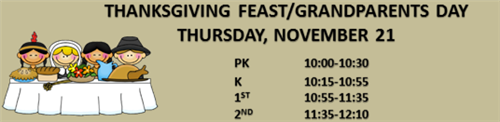 Thanksgiving Feast K-2