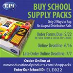School Supply Packs on Sale Now