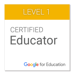 Google Educator Badge