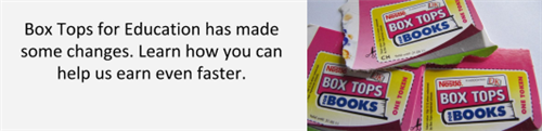 Box tops for education help us earn rewards