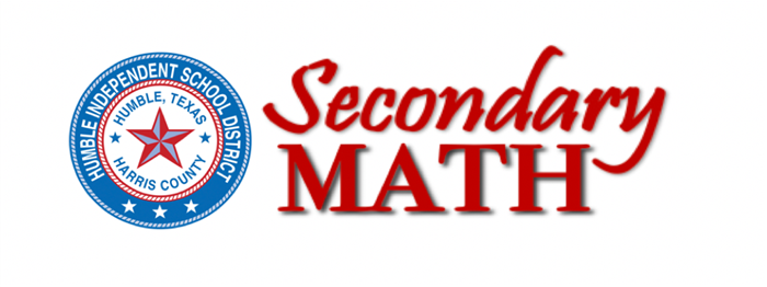 Secondary Math Logo