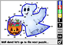 Digi Puzzle Halloween Dot to Dot