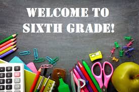Incoming 6th grade information