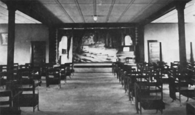 Humble High School Auditorium 1918