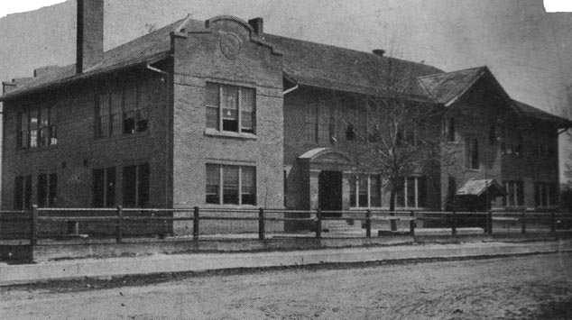 Renovated Humble School 1919