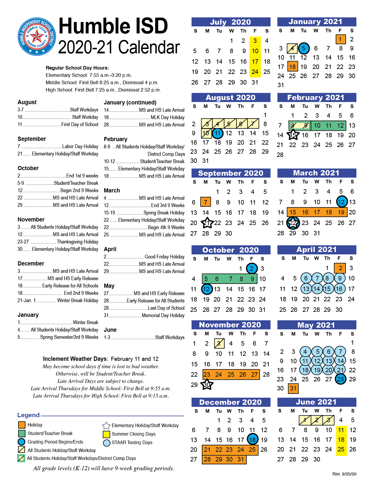 State College School District Calendar 2021 Pictures