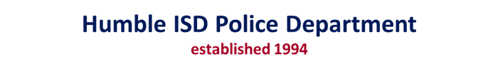 Humble ISD Police Department established 1994