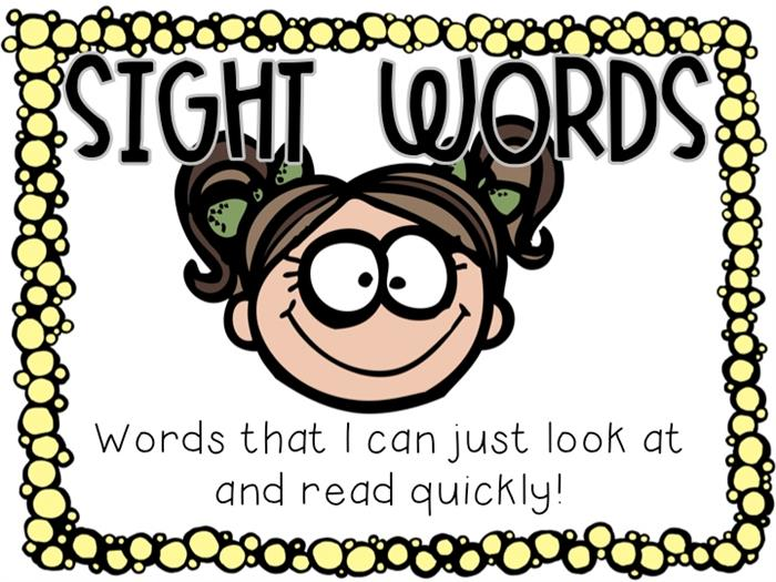 Sight Words Image